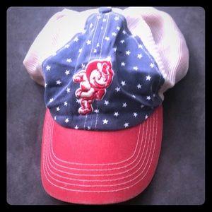 Ohio state 4th of July buckeye hat